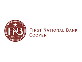 The First National Bank in Cooper