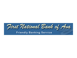 The First National Bank of Ava