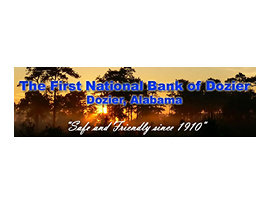 The First National Bank of Dozier