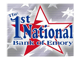 The First National Bank of Emory