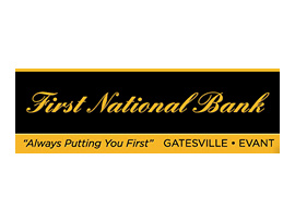 The First National Bank of Evant