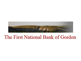 The First National Bank of Gordon