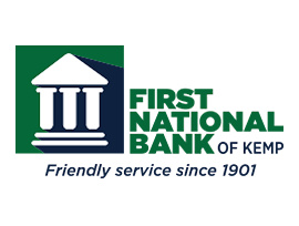 The First National Bank of Kemp